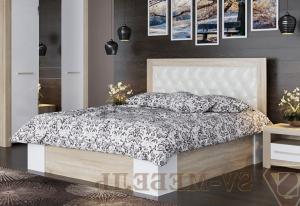 Модульная спальня Лагуна 6 Кровать двойная с подъёмным механизмом