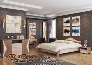 Модульная спальня Лагуна-5