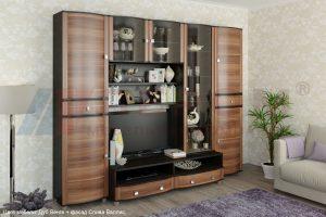 Модульная гостиная Оливия композиция 1