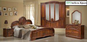 Классическая спальня Щара Шкаф 5ти дверный