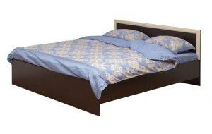 Кровать (ширина 1600) с настилом Фриз-2