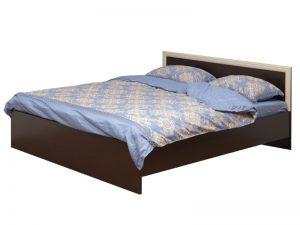 Кровать (ширина 1400) с настилом Фриз-2