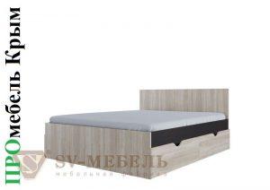 Кровать двойная с ящиками 1,6*2,0м