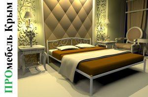 Кровать двуспальная Ангелина