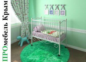 Кровать Женечка / Женечка Lux 120х60 см